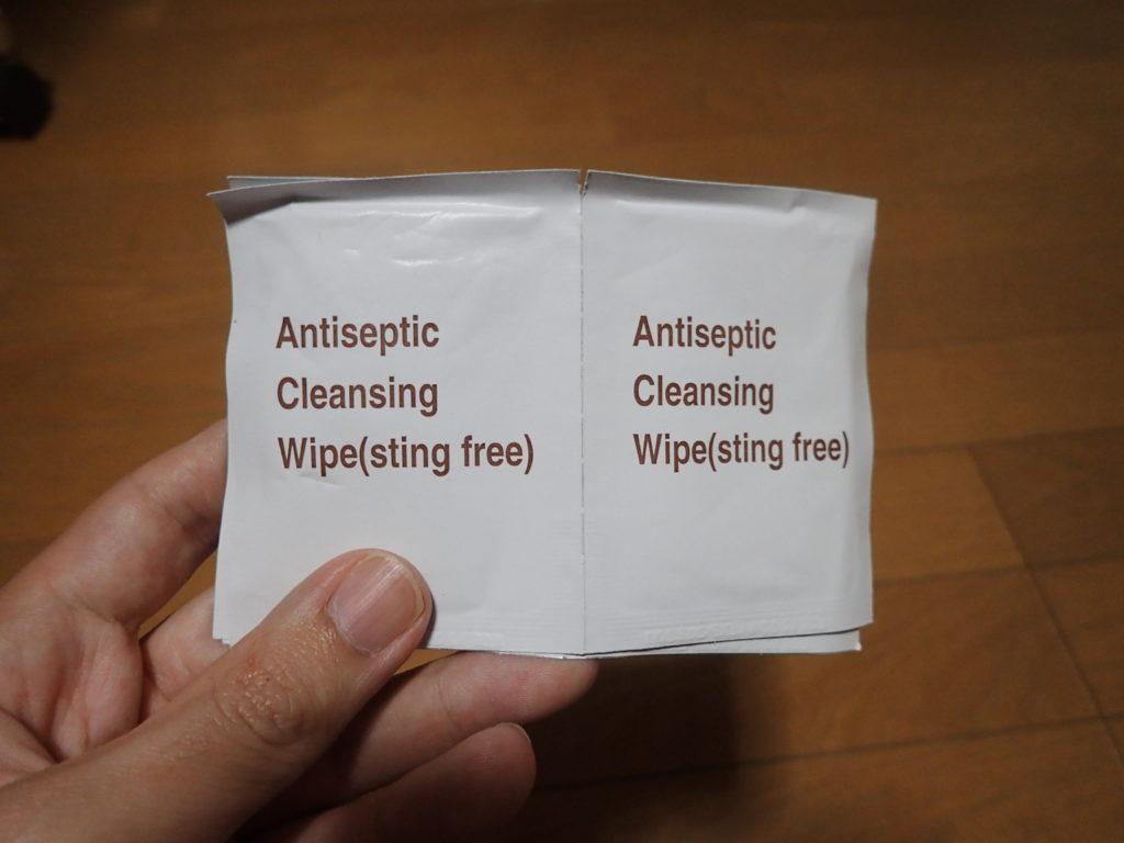 消毒用洗浄棉