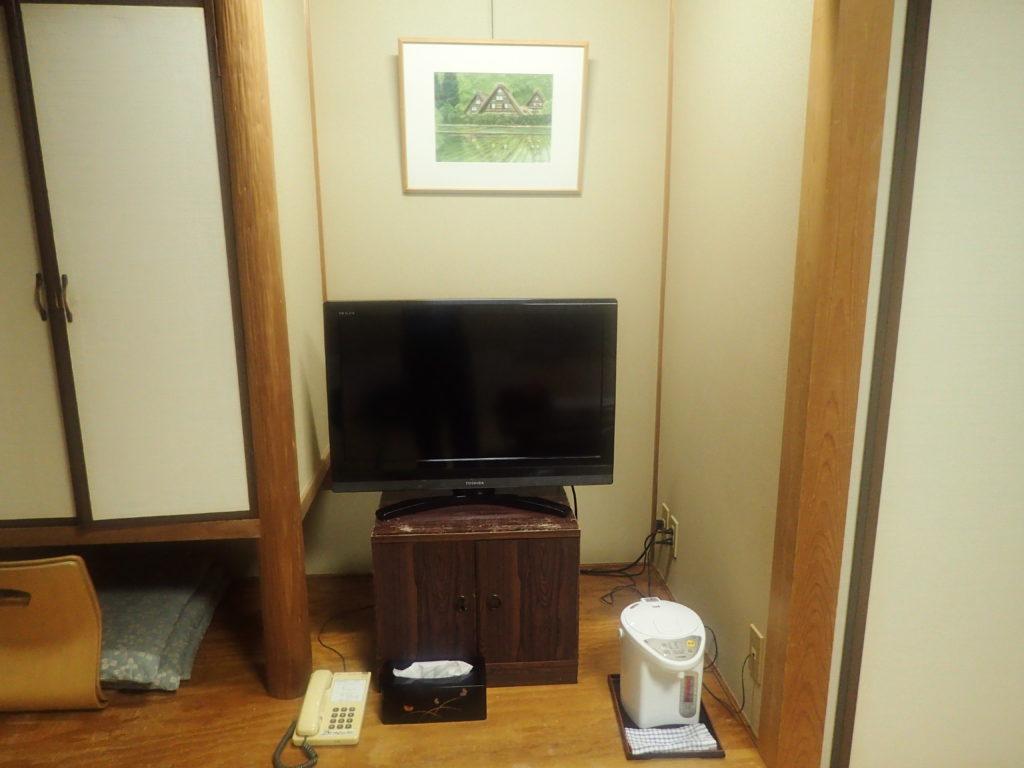 テレビや小物