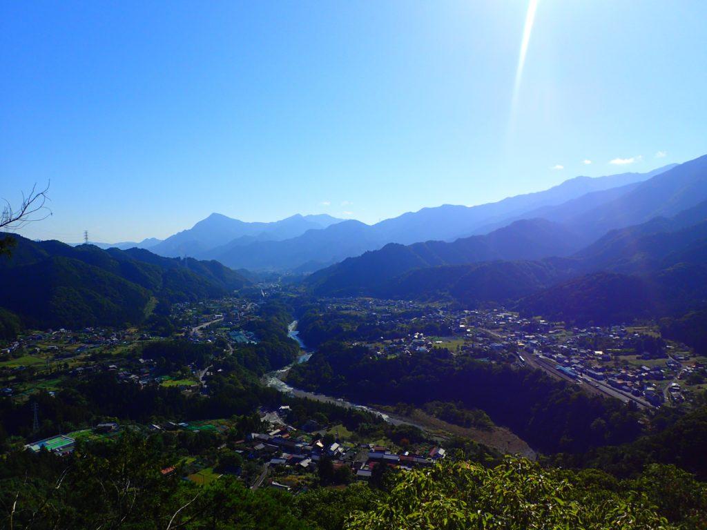 高岩からの景色
