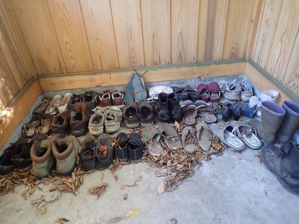 草鞋奉納所