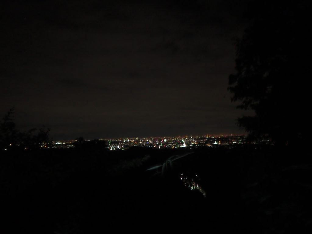 稲荷山夜景