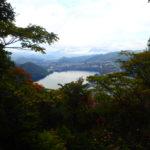 嵐山山頂からの景色
