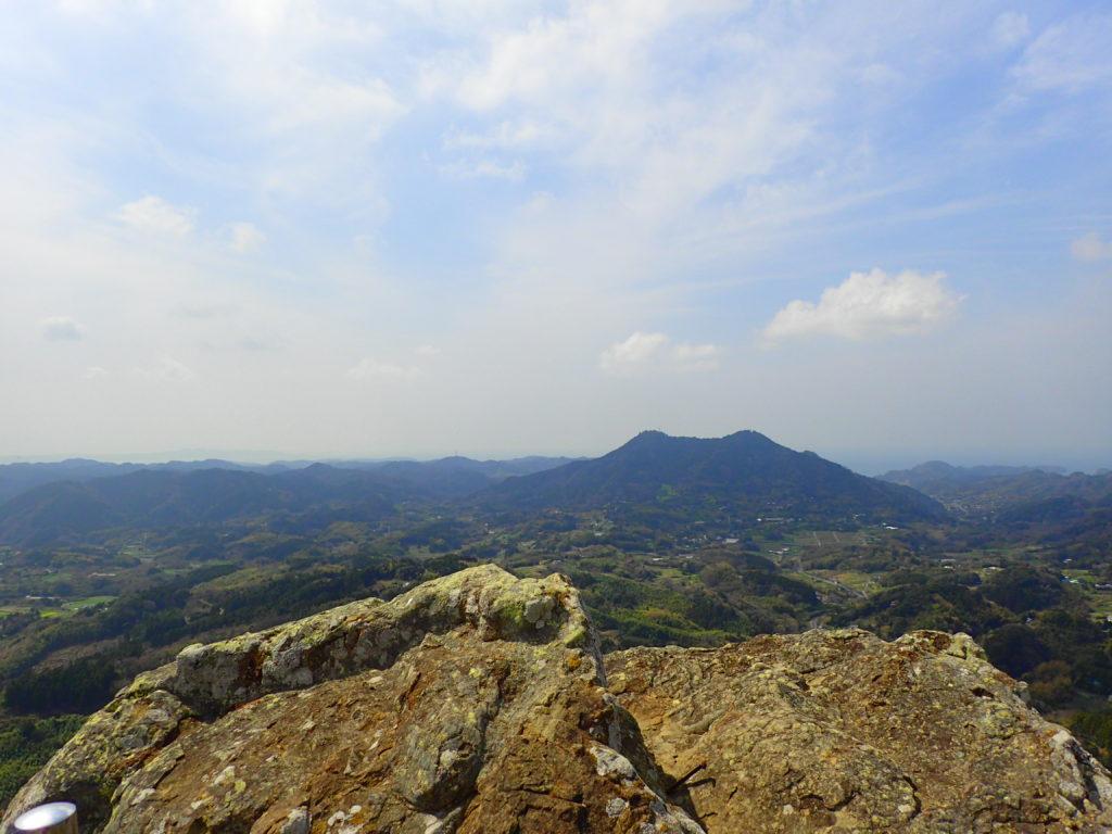 伊予ヶ岳からの眺め