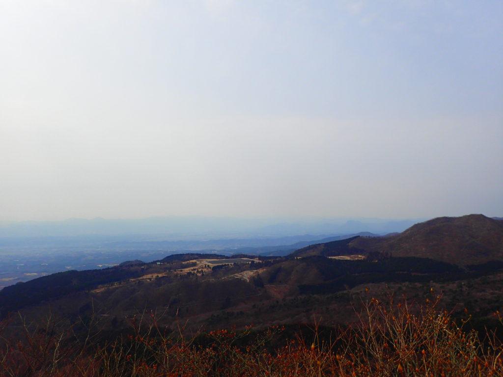 水沢山山頂からの景色