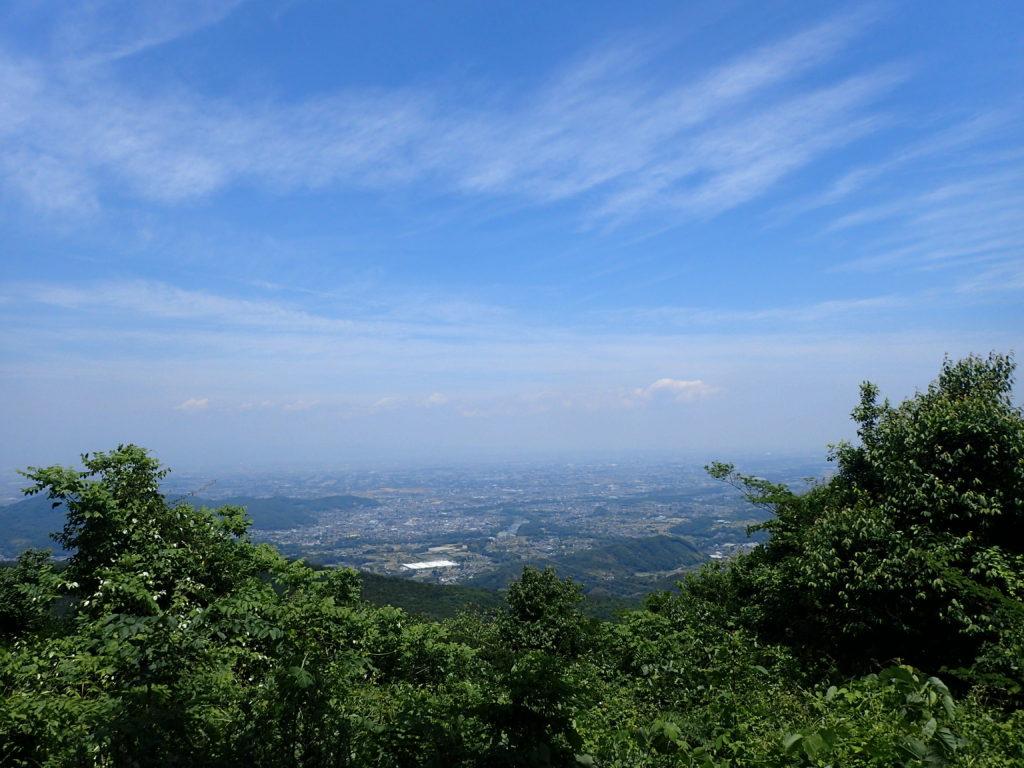 登谷山山頂