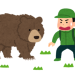 南アルプスで熊と遭遇!その時私がとった行動と対策
