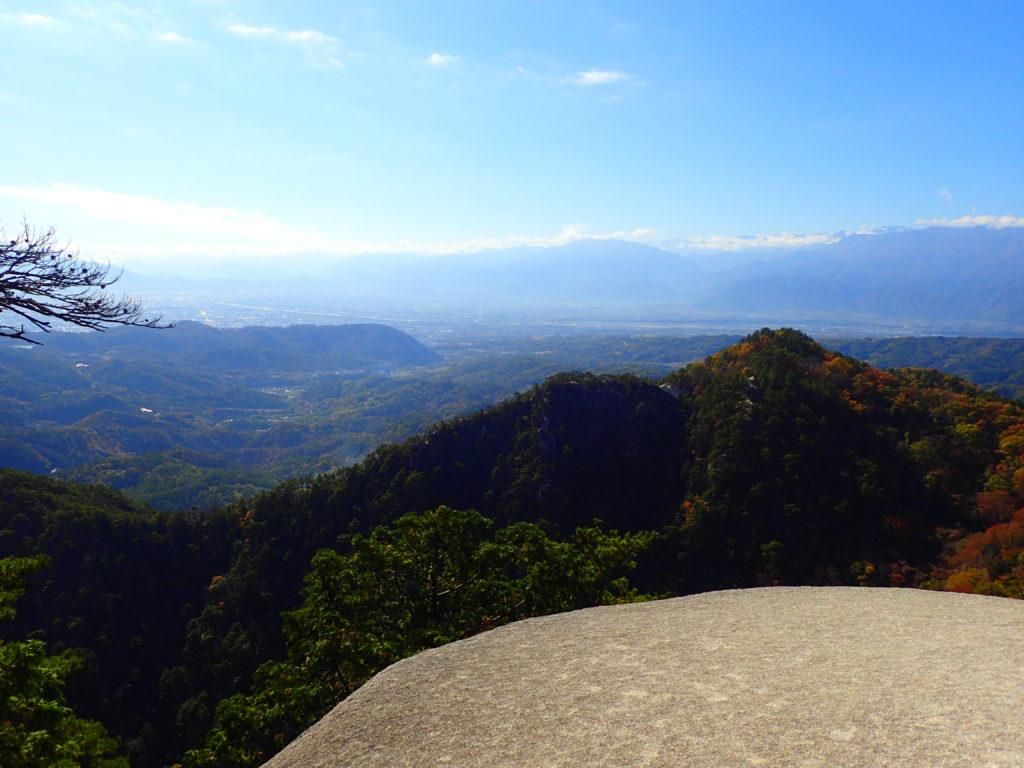 羅漢寺山山頂