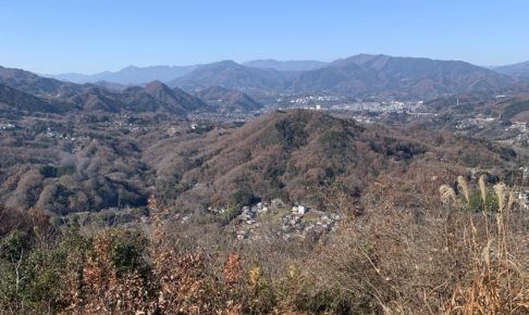 峯山山頂からの景色